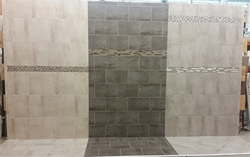We sell Ceramic, Porcelain, and Quarry Tile here at Jamison's Ceramic and Outlet.